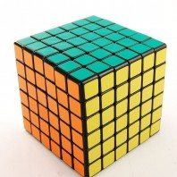 SHENGSHOU 6 x 6 cube axis ball. BLACK BASE.