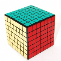 CUBE SHENGSHOU 7 x 7. Magic Cube 7 x 7 x 7 BASE black.