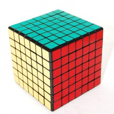 CUBE SHENGSHOU 7 x 7. Magic Cube 7 x 7 x 7 BASE black.