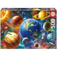 PUZZLE 500 PIECES SOLAR SYSTEM