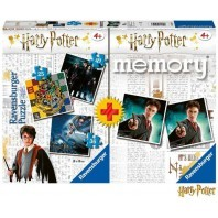 HARRY POTTER : PACK MEMORY+PUZZLE TRIPLE