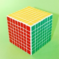 Shengshou 8x8 Magic Cube. White Base