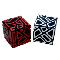 Ghost Cube 3X3 BLACK
