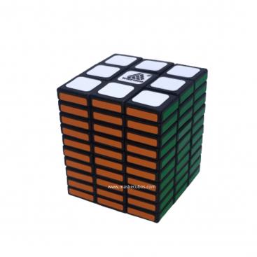 Cuboid 3x3x7 Magic Cube. Black Base
