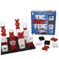 TIC STAC TOE 3D STRATEGIE SPIEL