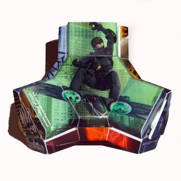 Platypus Spiderman. Magic Cube Spider-man.