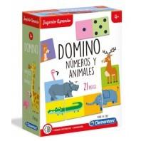 DOMINO NUMERO Y ANIMALES
