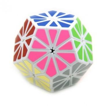 Pyraminx Crystal Minx Mágico. Base Blanca