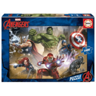 PUZZLE 1000 PIECES MARVEL HEROES