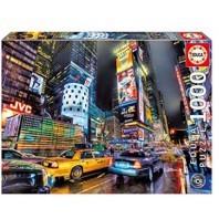 PUZZLE 1000 PZS EDUCA TIME SQUARE NUEVA YORK