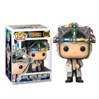 FUNKO POP Figura POP BACK TO THE FUTURE DOC WITH HELMET