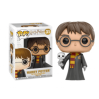 FIGURA FUNKO POP HARRY POTTER WHITH HEDWIG