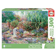 PUZZLE 500 PIECES FRIENDS ADORABLE CAT AND DUCK