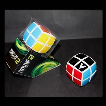 Nuevo V-Cube 2b Pillow Blanco. Cubo 2x2 Vcube.