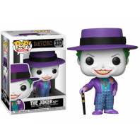 FIGURA FUNKO POP DC COMICS BATMAN 1989 JOKER WITH HAT