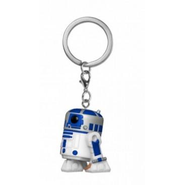 LLAVERO POCKET POP STAR WARS R2-D2