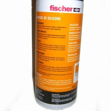 Spray Fischer. Aerosol De Silicona Para Lubricar Cubos.