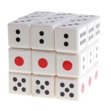 Dice 3x3x3 Magic Cube