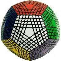 Black Petaminx. Magic Dodecahedron