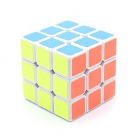 Moyu Weilong 3x3x3 Magic Cube. White Base
