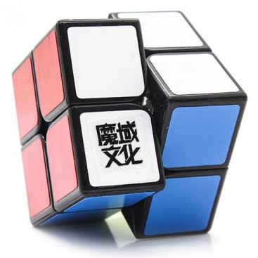 Moyu Lingpo 2x2x2 Magic Cube. Black Base