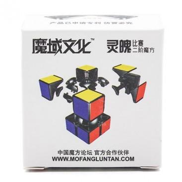 Moyu Lingpo 2x2 Cubo Mágico. Base Negra