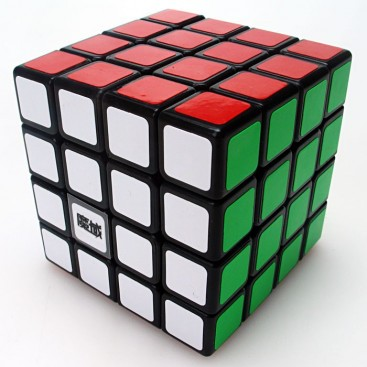 Moyu Weisu 4x4x4 Magic Cube. Black Base