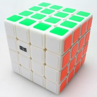 Moyu Weisu 4x4x4 Magic Cube. White Base