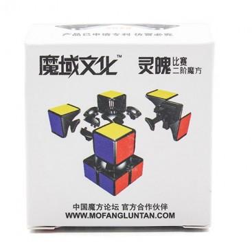 Moyu Lingpo 2x2 Cubo Mágico. Base Blanca