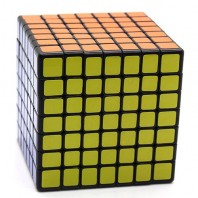 Mini ShengShou 7x7. Cubo mágico 69mm 7x7x7 base negra.