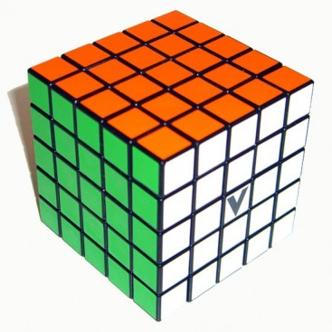 V-Cube 5x5 Magic Cube. Black Base