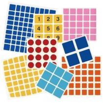 Kubischen Stickers