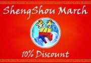 Promoção Março Shengshou