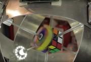 Robô resolve cubo em 0.887s