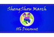 Promoción Marzo 2017 ShengShou